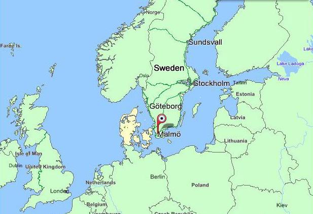 lund i sverige kart Karta: Sverige   Salsa Sabrosa Dansskola: Salsa Bachata Kizomba  lund i sverige kart